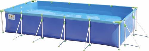 piscina 10000 litros com filtro 3600l/h e capa mor