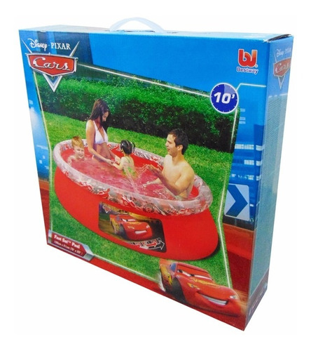 piscina 1126 lts disney cars
