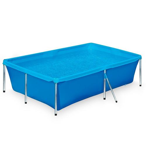 piscina 2000 litros infantil crianças retangular