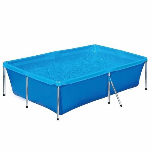 piscina 3000 litros plastico estruturada retang botafogo