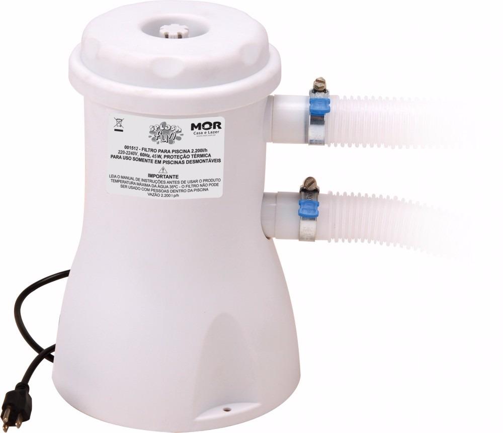Piscina 4500 litros com capa forro e filtro mor r 999 for Piscina 1000 litros