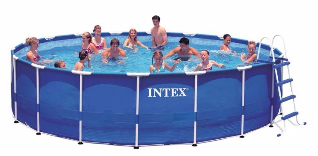 Piscina alberca intex 18 39 x 48 39 39 7 en mercado libre for Albercas intex precios