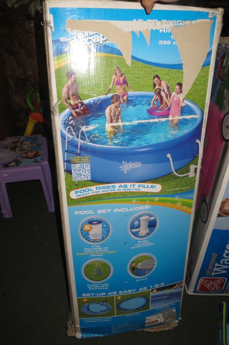 Piscina americana en mercado libre for Cuanto sale construir una piscina