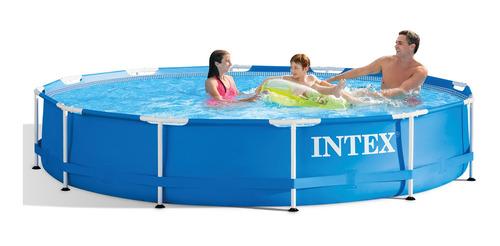 piscina arm metal galvanizado 3.66m x 76cm 6.5l bomba filtro