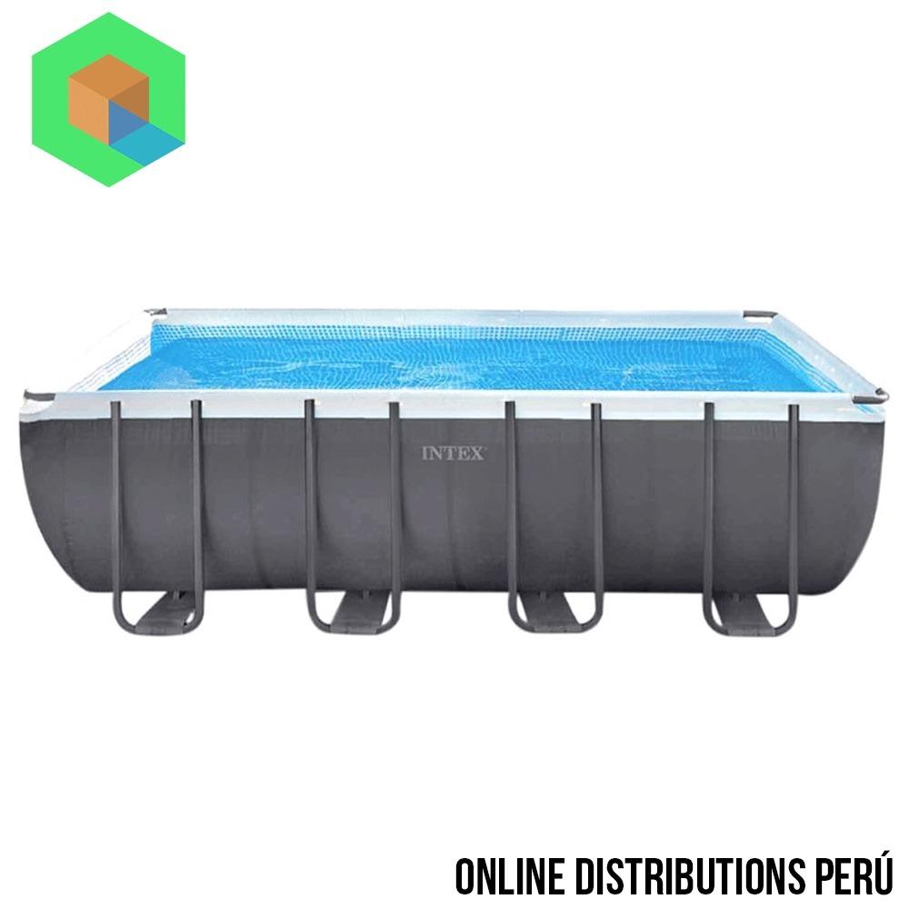 Piscina armable intex 549 x 274 x 132 capacidad de 17203 l t s en mercado libre - Piscina intex 549x274x132 ...