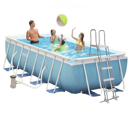 piscina armable intex rectangular 4.88mx2.44mx1.07m