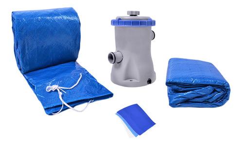 piscina armação redonda 10000l kit filtro 511200 belfix 220v