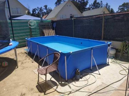 piscina bestway estructural rectangular 5700 lt 1506 galones