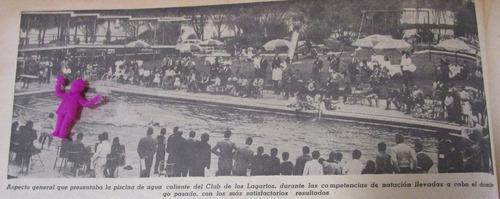 piscina club lagartos 1951 imagen antigua grande