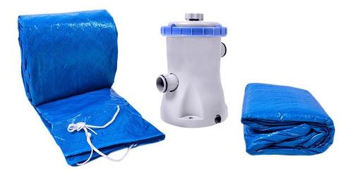 piscina com armação redonda 13000l kit 511300 belfix 220v