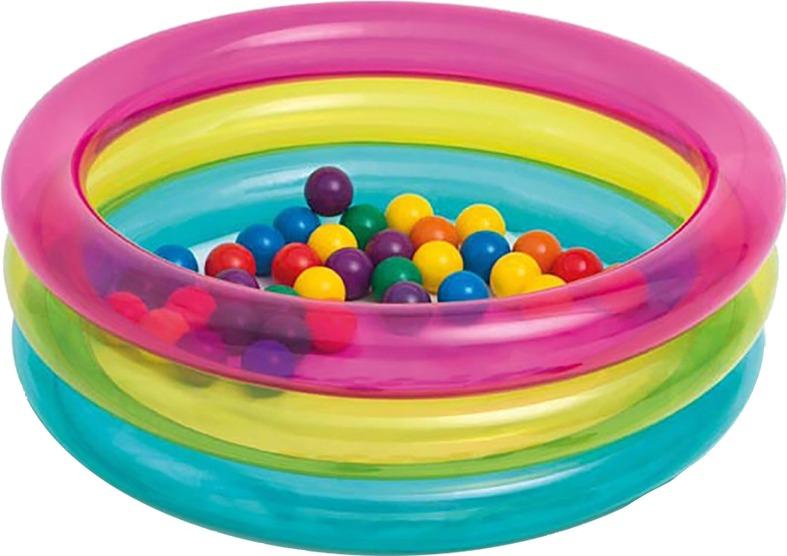 Piscina con pelotas pelotitas pl sticas intex for Piscinas de bolas para bebes
