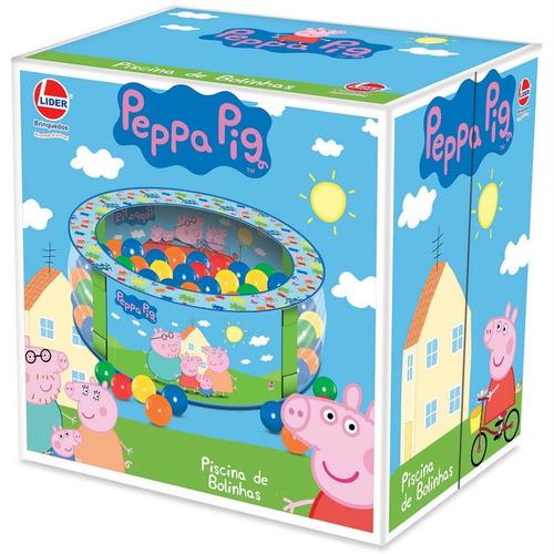 piscina de bolinhas desenho peppa pig c/ 100 bolinhas+frete