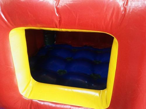 piscina de bolinhas inflável 3m x 3m nacional - frete grátis