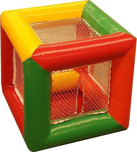 piscina de bolinhas infllável cubo 2x2