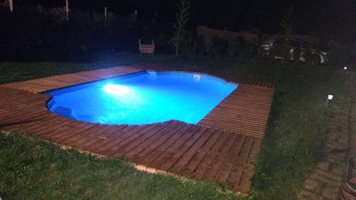 piscina de fibra de vidrio 6.50x3.50 metros