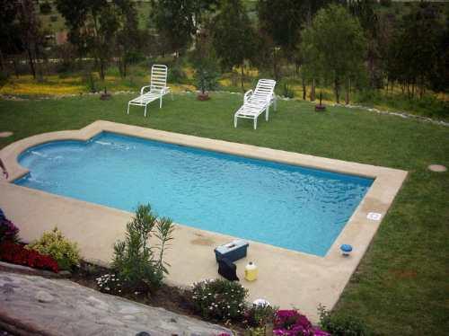 piscina de fibra de vidrio modelo cahuelm rectangular