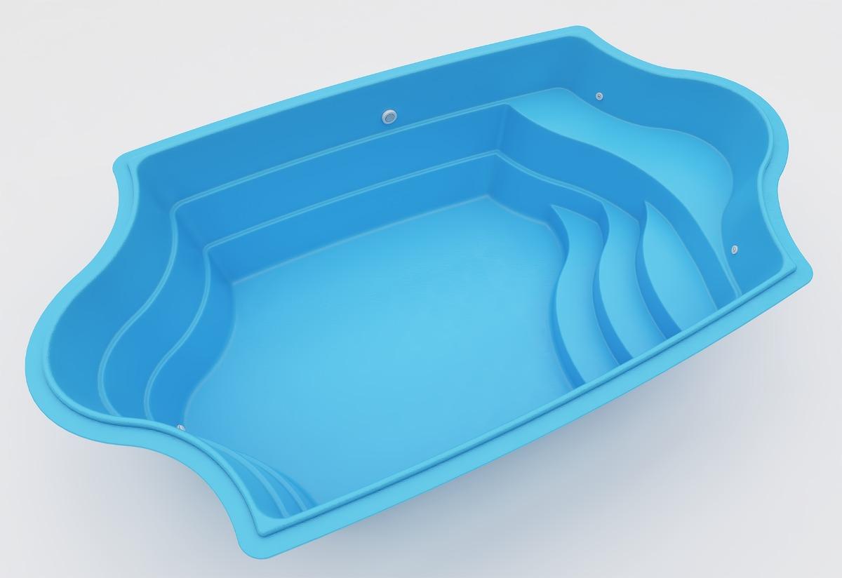Piscina de fibra desde at direto de for Fabrica piscinas de fibra