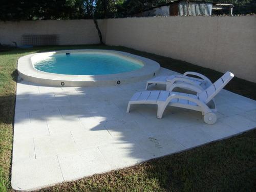 piscina de fibra promoción   !!! 6.30m x 3m x 1.30 a 1.50m