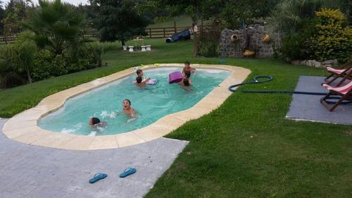 piscina de fibra- punta del este - pinares pileta instalada