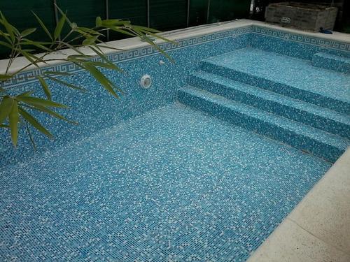 piscina de hormigon 8x3 con 3 luces led $155.000 oferta!!!