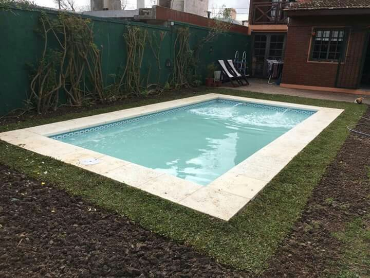 Precio piscina de obra 8x4 - Costo piscina 8x4 ...