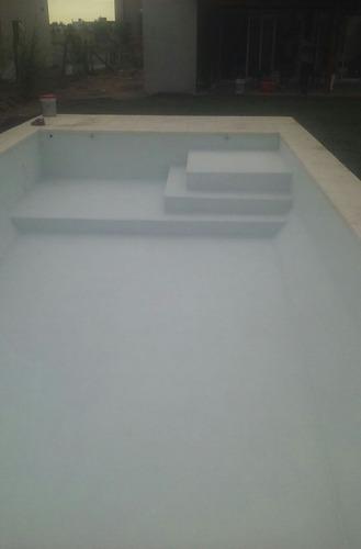 piscina de hormigón completa 8x4  $ 82