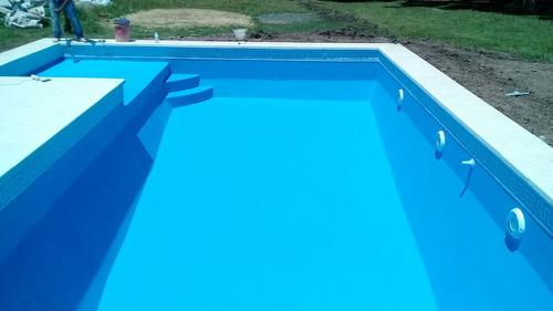 piscina de hormigón completa 8x4  $ 820000