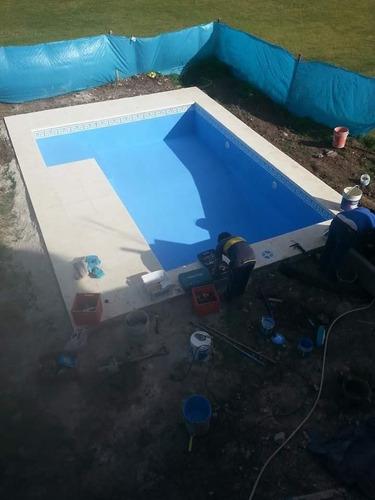 piscina de hormigón terminada 6*3 llave en mano