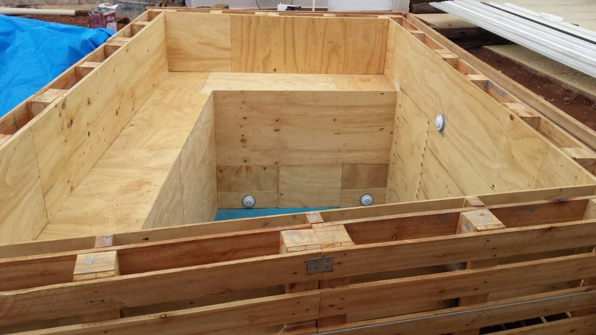 piscina de palete pallet madeira media desmontavel
