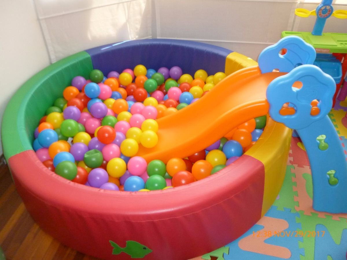 Piscina de pelotas s 430 00 en mercado libre for Pelotas para piscina