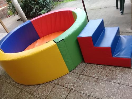 piscina de pelotas de 170x170 x 50 d 24 para niños