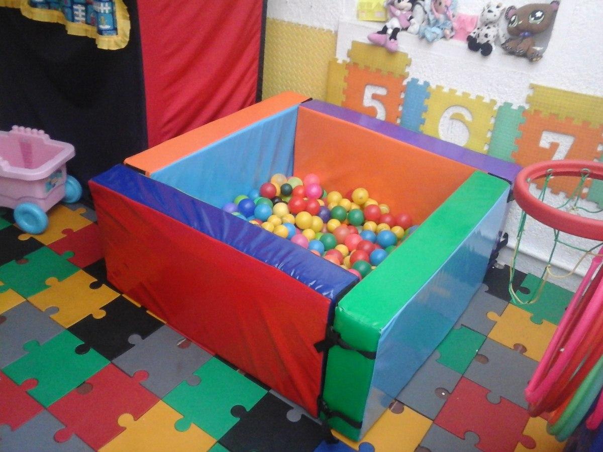 Piscina de pelotas mas bulto de 500 pelotas for Pelotas para piscina