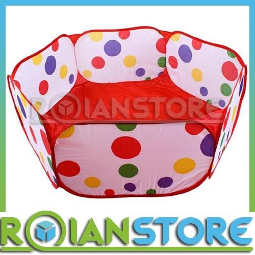 piscina de tela para pelotas de 120cm de diámetro (2 niños)