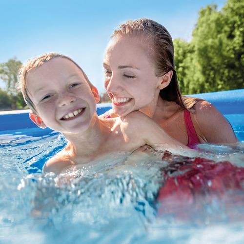 piscina easy set 2.44m x 76cm 2.419l com bomba filtro
