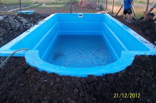 Piscina en fibra de vidrio en mercado libre for Valor piscina de fibra