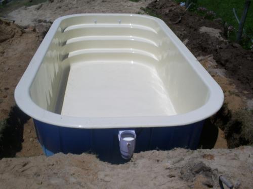 piscina en fibra de vidrio oferta