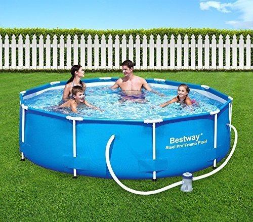 piscina estructural 305 x 76 cm + bomba precio increible