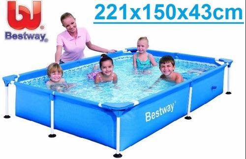 piscina estructural bestway 221 x 150 x 43 stock 2019