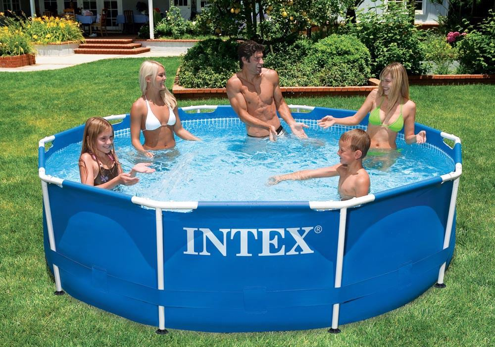 piscina estructural familiar intex 28200 finca