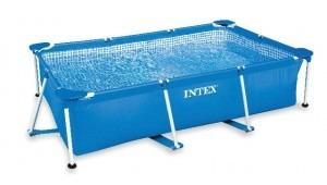 piscina estructural intex 28272 3 x 2 x0.75 mts finca jardin