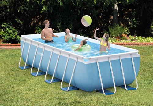 piscina estructural intex 28317  4.88mt x 2.44mt x 1.07mt