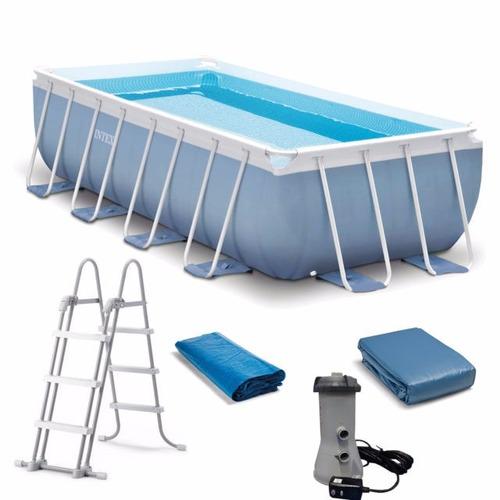 piscina estructural intex 4,8x2,4x1,06 metros finca