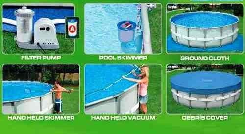 piscina estructural rapida finca armable casa paseo barata