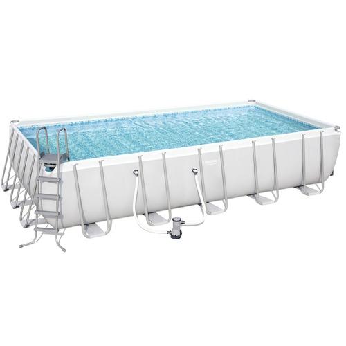 piscina estruturada 14.812l 5.49m x 2.74m x 1.22m filtro