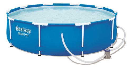 piscina estruturada 4.678l steel pro frame pool set 3.05m