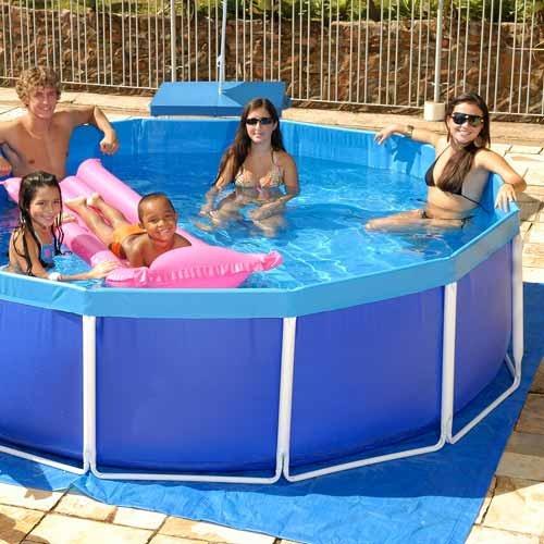 piscina estruturada 5.500l - mor