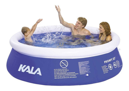 piscina fast borda inflável 4000 litros 196126 kala