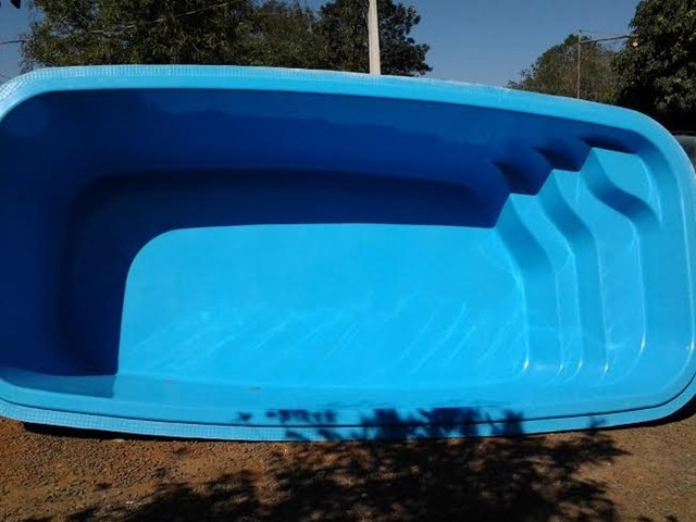 Piscina fibra atl ntica 4 88x2 63x1 30 r em for Valor piscina de fibra
