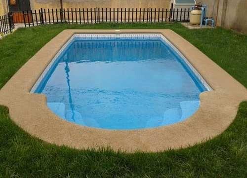Piscina fibra de vidrio 8 mts x mts for Fabrica de piscinas de fibra de vidrio