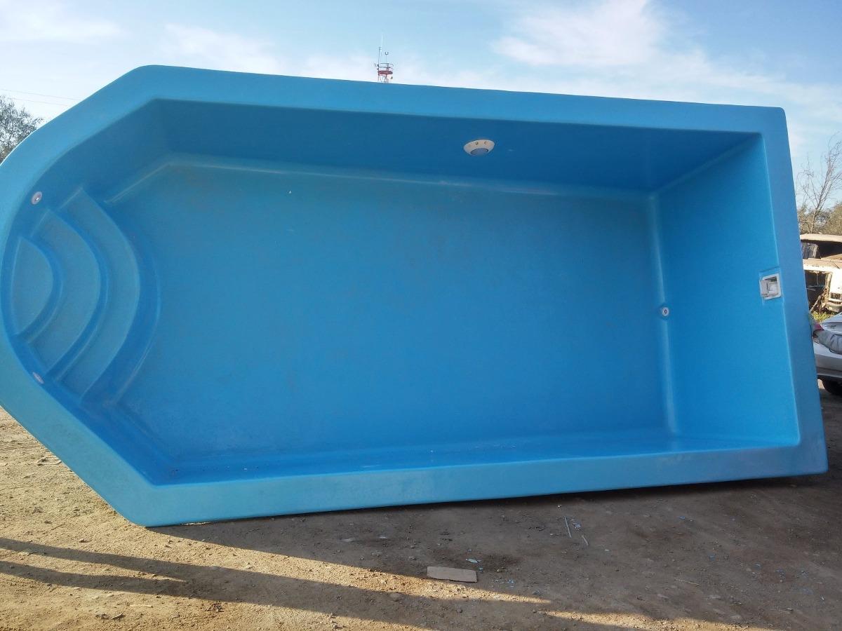 Piscina fibra de vidrio 8 x 3 1 mts en for Fibra de vidrio para piscinas